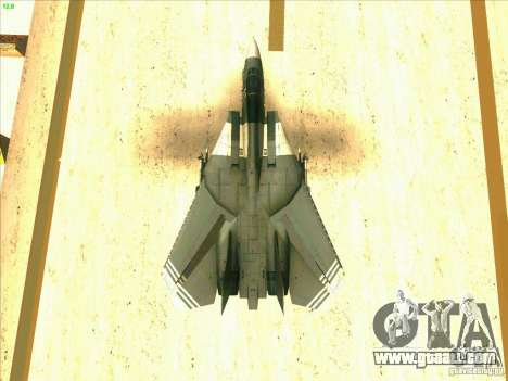F-14 Tomcat Schnee for GTA San Andreas engine