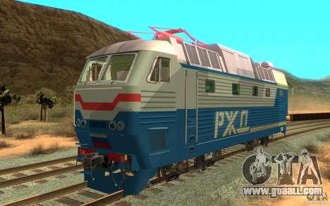 Lokomotiv ChS7-082 for GTA San Andreas