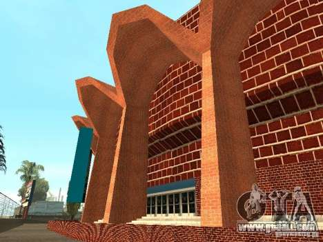 New textures Los Santos Stadium Forum for GTA San Andreas third screenshot