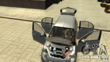 Nissan Micra for GTA 4 bottom view