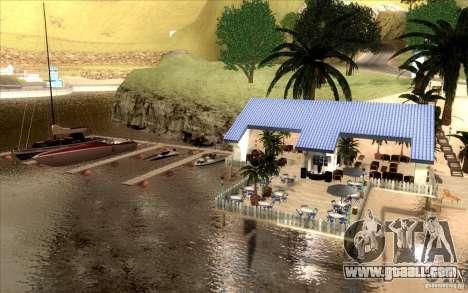 Beach Club for GTA San Andreas third screenshot