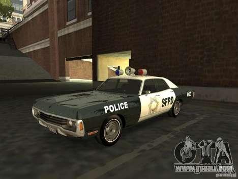 Dodge Polara Police 1971 for GTA San Andreas