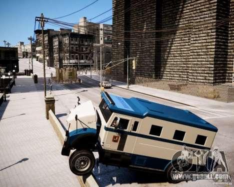Russian Police Stockade for GTA 4 right view