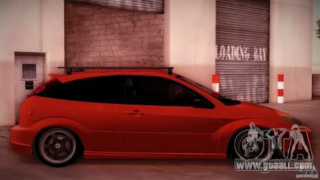 Ford Focus SVT Clean for GTA San Andreas back view