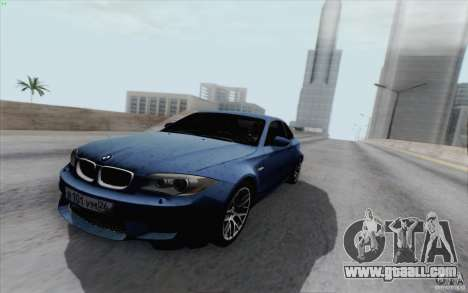 BMW 1M 2011 V3 for GTA San Andreas right view