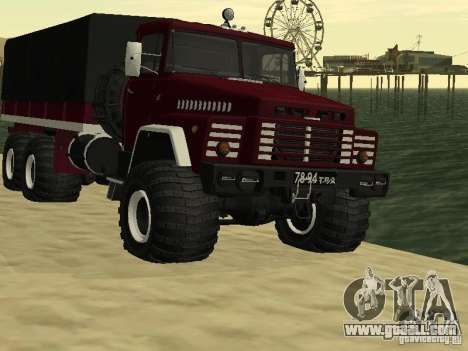 KrAZ 260 for GTA San Andreas