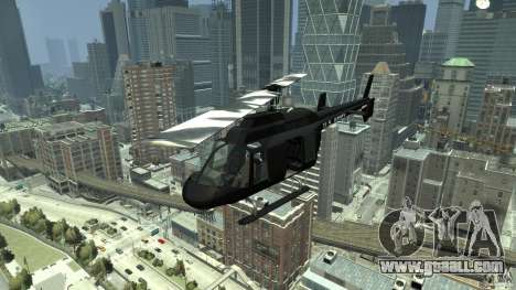 Black U.S. ARMY Helicopter v0.2 for GTA 4