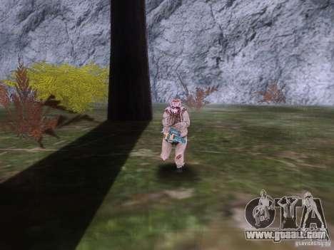 Piggsy on Mount Chilliad for GTA San Andreas forth screenshot