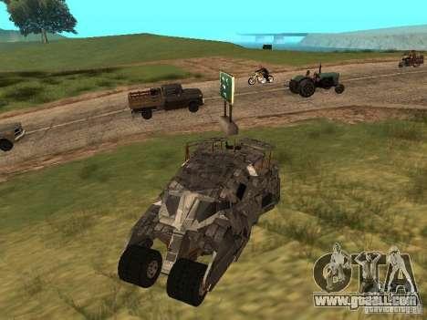 Batman Car for GTA San Andreas