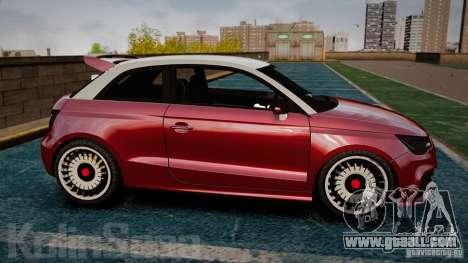 Audi A1 Quattro for GTA 4 left view