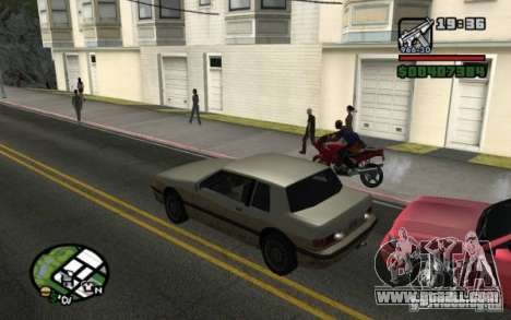 Universal rear lights for GTA San Andreas third screenshot