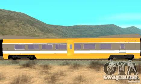 TGV SOUTH WEST for GTA San Andreas right view