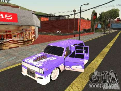 GAZ 24-12 Lowrider for GTA San Andreas left view