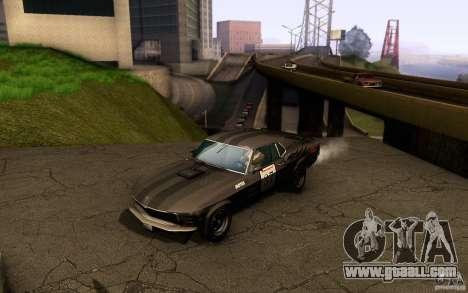Ford Mustang Boss 302 for GTA San Andreas wheels