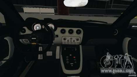 Alfa Romeo 8C Competizione Body Kit 1 for GTA 4 back view