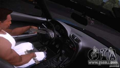 Mazda RX-7 Veilside v3 for GTA San Andreas back view
