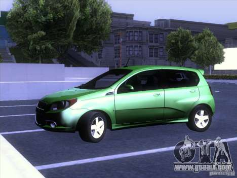 Chevrolet Aveo LT for GTA San Andreas right view