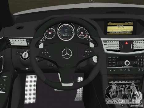 Mercedes-Benz E63 AMG for GTA Vice City wheels