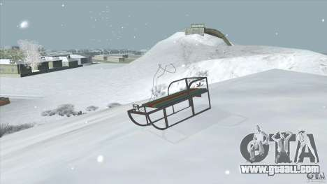 Sledge for GTA San Andreas left view