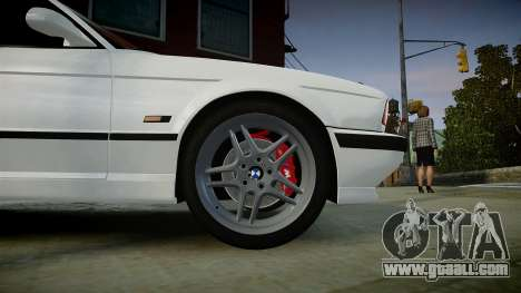 BMW M5 (E34) 1995 v1.0 for GTA 4 right view