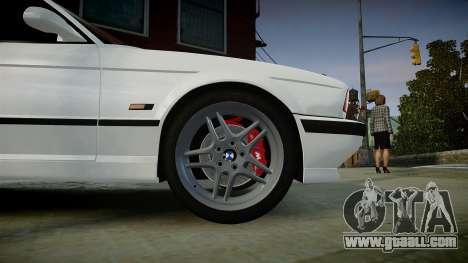 BMW M5 (E34) 1995 v1.0 for GTA 4 right view