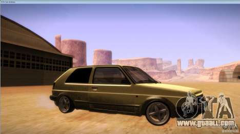 Volkswagen Golf MK II for GTA San Andreas side view