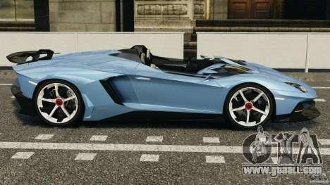 Lamborghini Aventador J 2012 for GTA 4 left view
