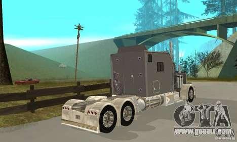 Peterbilt 379 Custom Legacy for GTA San Andreas right view