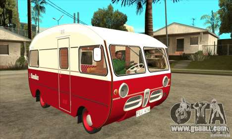Saab 92HK Motorhome 1965 for GTA San Andreas back view