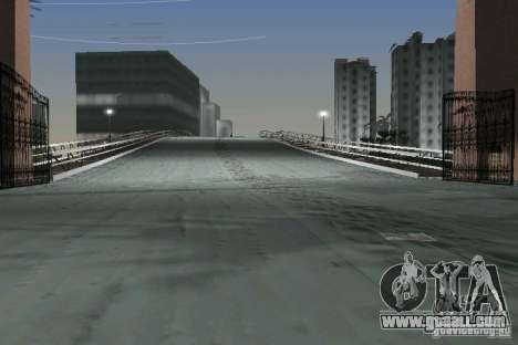Snow Mod v2.0 for GTA Vice City seventh screenshot