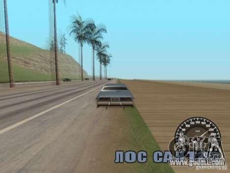 Speedometer Audi for GTA San Andreas third screenshot