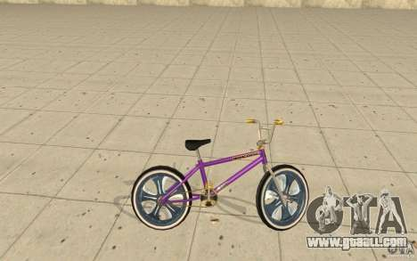 Spin Wheel BMX v1 for GTA San Andreas left view