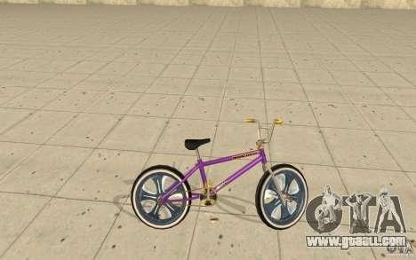 Spin Wheel BMX v1 for GTA San Andreas left view