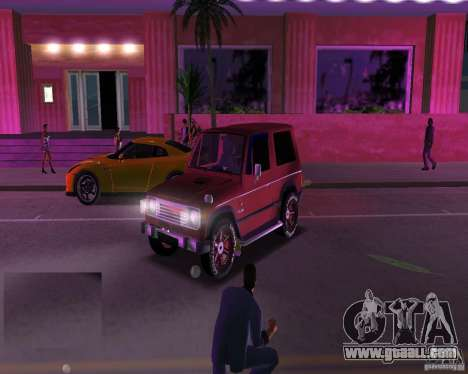 Mitsubishi Pajero for GTA Vice City