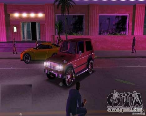 Mitsubishi Pajero for GTA Vice City