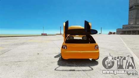 Honda Civic Tuned for GTA 4 back view