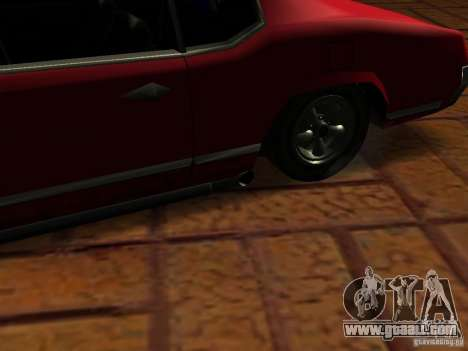 Charger Sabre for GTA San Andreas back view