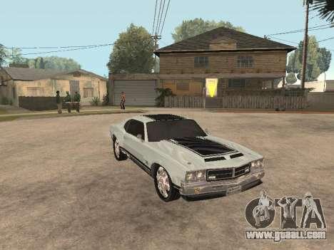 SabreGT from GTA 4 for GTA San Andreas left view