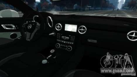 Mercedes-Benz SLK55 R172 AMG 2011 v1.0 for GTA 4 inner view