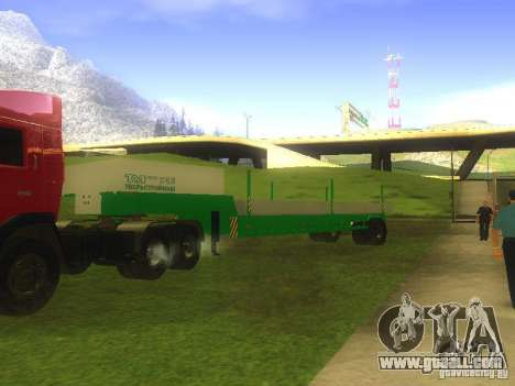 TCM trailer-993910 for GTA San Andreas left view