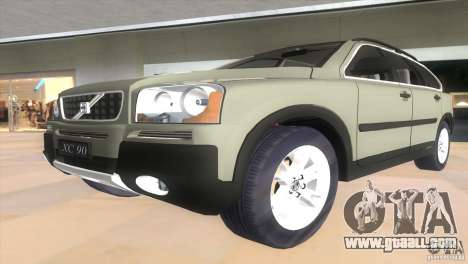 Volvo XC90 for GTA Vice City back view