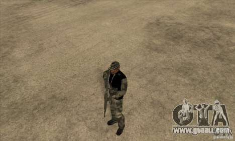 Camouflage clothing for GTA San Andreas second screenshot