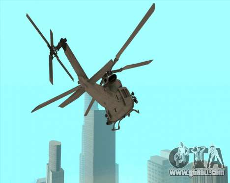 UH-1 Iroquois for GTA San Andreas left view