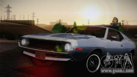 AMC Javelin AMX 401 1971 for GTA San Andreas