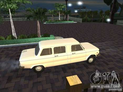 ZAZ 968 m Limousine for GTA San Andreas inner view
