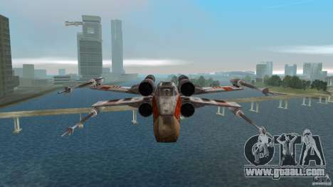 X-Wing Skimmer for GTA Vice City inner view