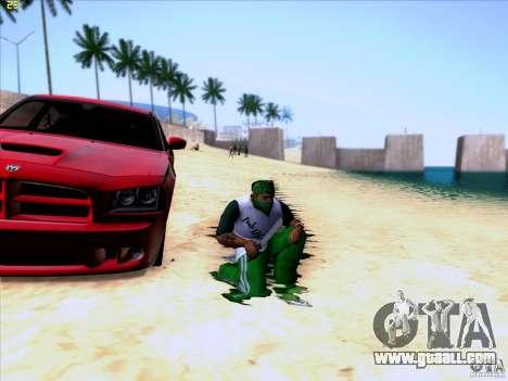 Machete from Far Cry 3 for GTA San Andreas third screenshot