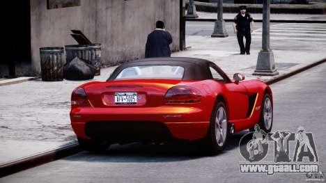 Dodge Viper SRT-10 2003 1.0 for GTA 4 inner view
