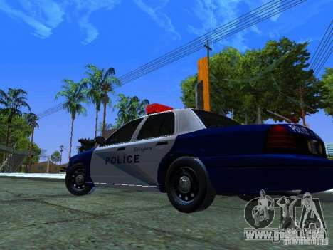 Ford Crown Victoria Belling State Washington for GTA San Andreas back view