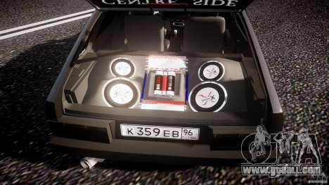 VAZ Lada 2109 for GTA 4 interior
